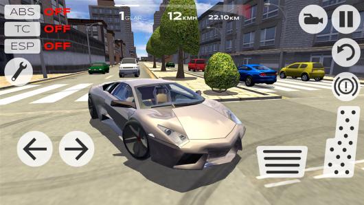 Extreme Car Driving Simulator - современные авто