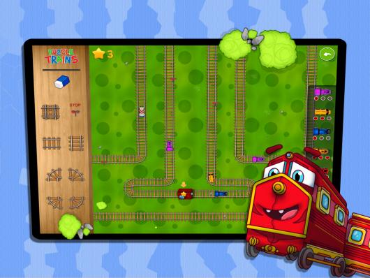 Puzzle Trains - новая стилистика