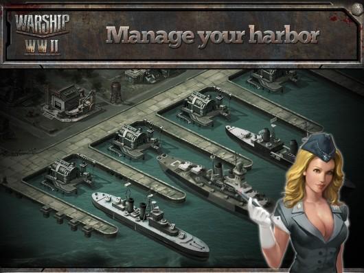Warship WWII - новая вселенная боев