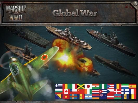 Warship WWII - страны мира