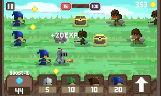 Pixel Kingdom - средние века