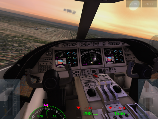 Extreme Landings - крутой вираж