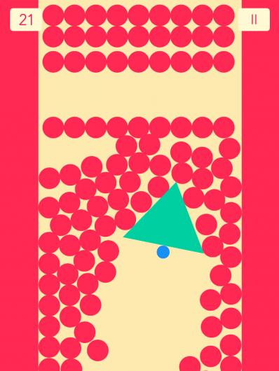 The Line Zen - круги и треугольники