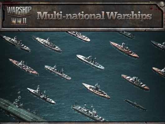 Warship WWII - модернизация кораблей