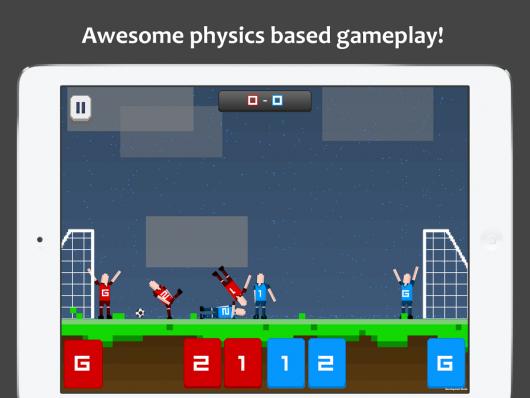 Pocket Soccer - простая графика