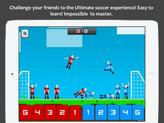 Pocket Soccer - динамичный футбол