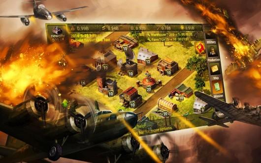War 2 Victory - воздушные сражения