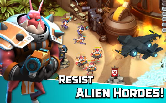 Alien Creeps TD - защита территории