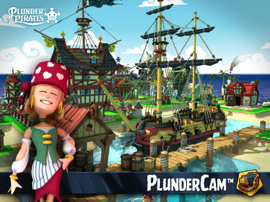 Plunder Pirates: Build Battle - корабль