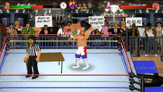 Booking Revolution (Wrestling) - опасный рестлинг