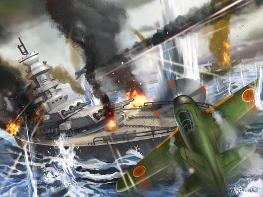 Warship WWII - море и бои