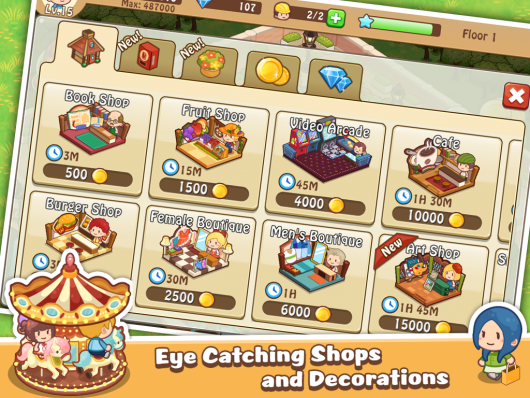Happy Mall Story - продажи