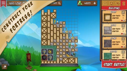 Fortress Fury - строения