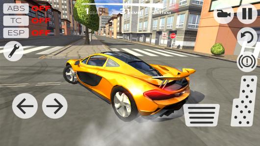 Extreme Car Driving Simulator - резкий поворот