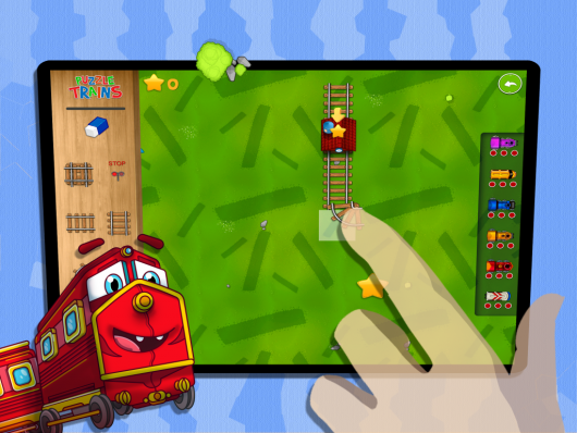 Puzzle Trains  - снова в путь
