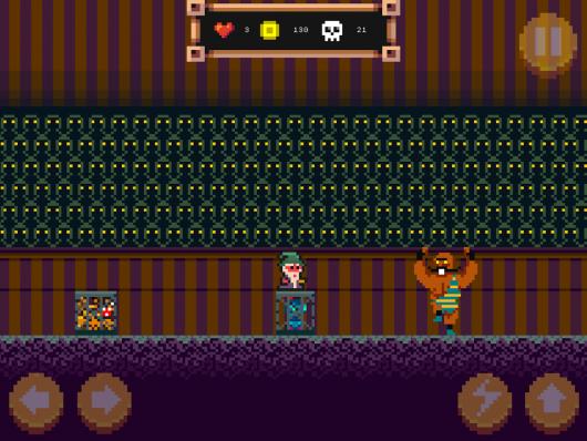 Pixel Wizard: 2D platform RPG - игровой мир
