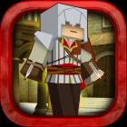 Assassin Mission Block Gun – пиксельный мир