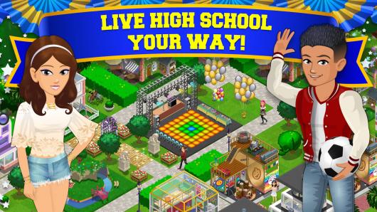 High School Story - новая школа
