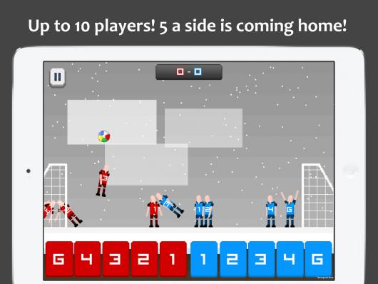 Pocket Soccer - жаркие матчи