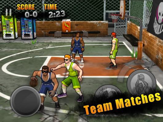Jam City Basketball - динамичный баскетбол