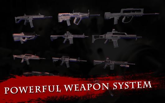 Zombie Crush 2 - арсенал оружия