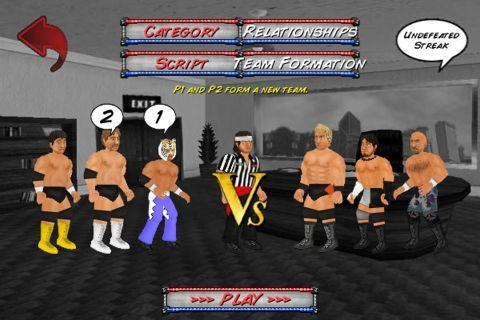 Booking Revolution (Wrestling) - командные матчи