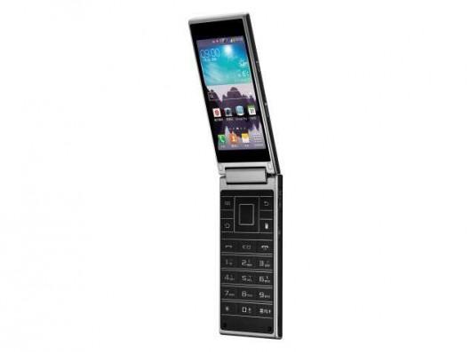 Samsung SM-G9198 - раскладной смартфон
