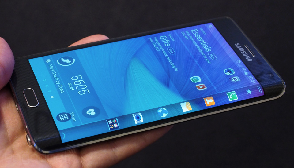 Функционал боковых рамок смартфонов Samsung