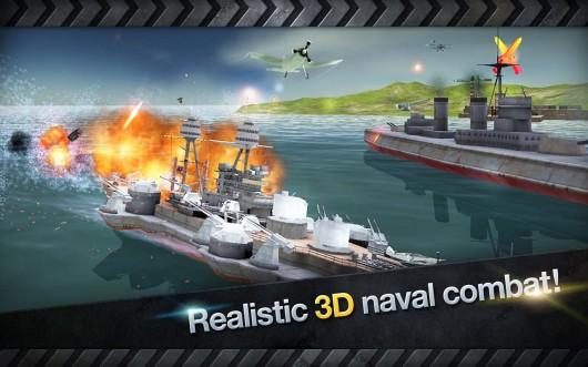 Warship Battle:3D World War II - реалистичная графика