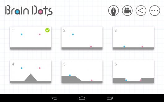 Brain Dots - сложные этапы