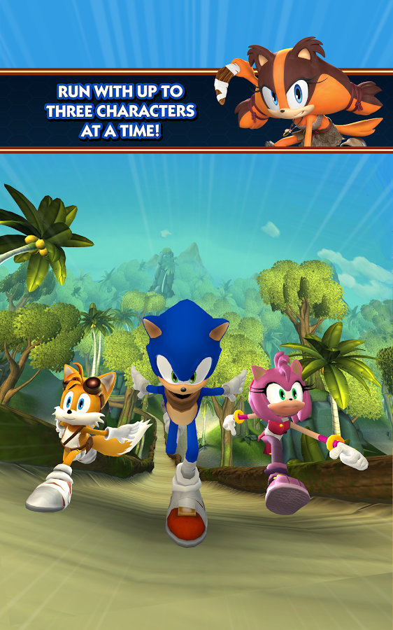 Sonic Dash 2: Sonic Boom - популярный раннер