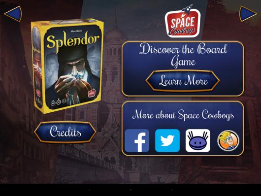 Splendor - геймплей