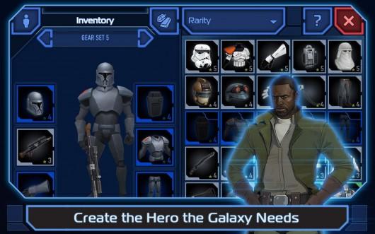 Star Wars: Uprising - развитие персонажа
