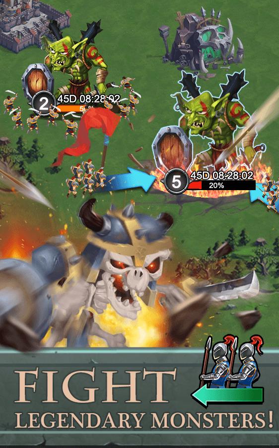 Battle for Domination - суровые монстры