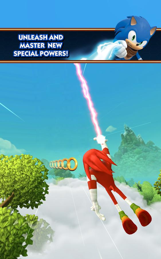 Sonic Dash 2: Sonic Boom - собираем бонусы