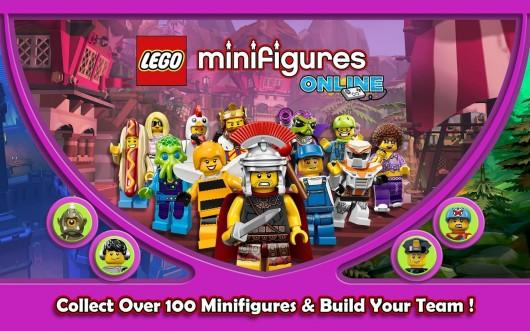 LEGO® Minifigures Online - персонажи