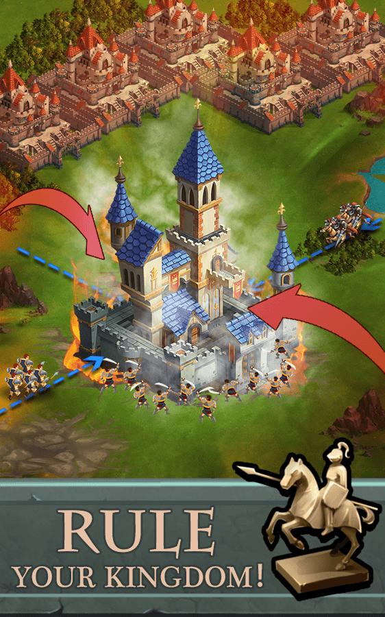 Battle for Domination - замки