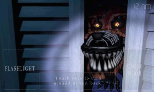 Five Nights at Freddy's 4 - пугающие персонажи