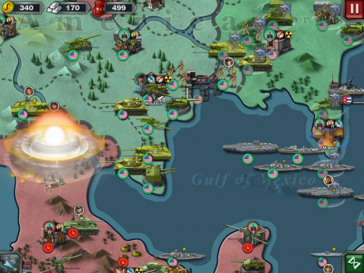 World Conqueror 3 - сражения