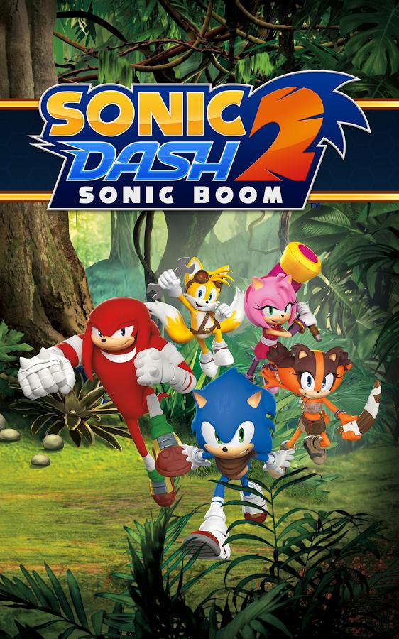 Sonic Dash 2: Sonic Boom - классические персонажи