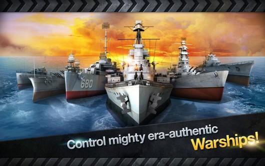 Warship Battle:3D World War II - крутые корабли