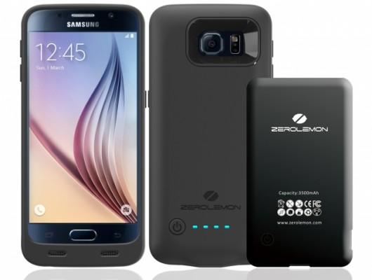 Новый чехол с аккумулятором для Galaxy S6