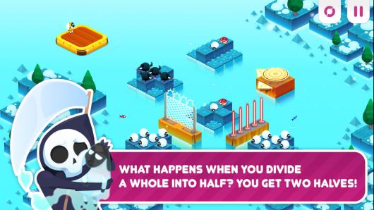 Divide By Sheep - игра на море