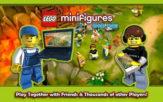 LEGO® Minifigures Online - мультиплеер
