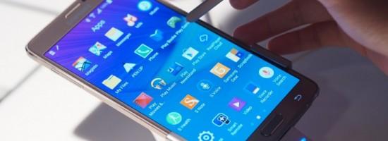 Samsung Galaxy Note 4 - обновление системы на подходе