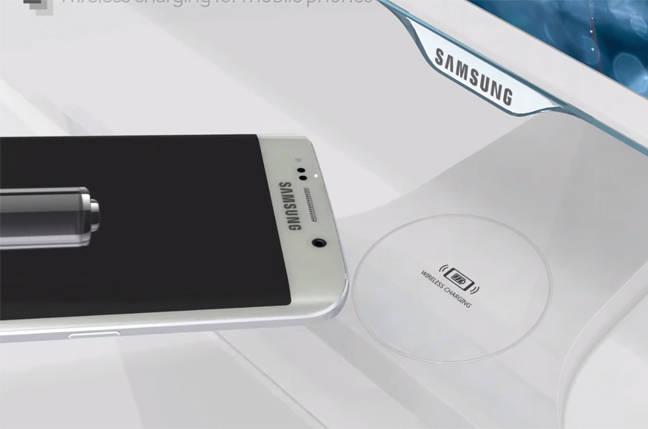Монитор с беспроводной зарядкой от Samsung