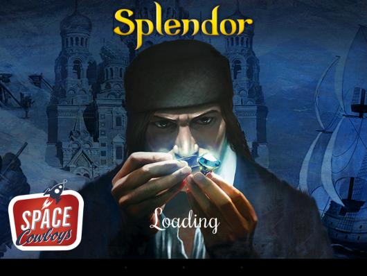 Splendor - старт игры