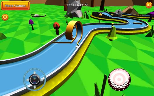 Mini Golf: Retro - ретро-гольф