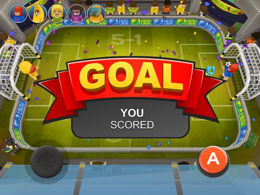 Football Blitz - гол