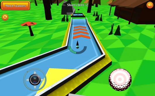 Mini Golf: Retro - отличный спорт